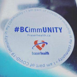 I am part of Covid - 19 immunity in my community.